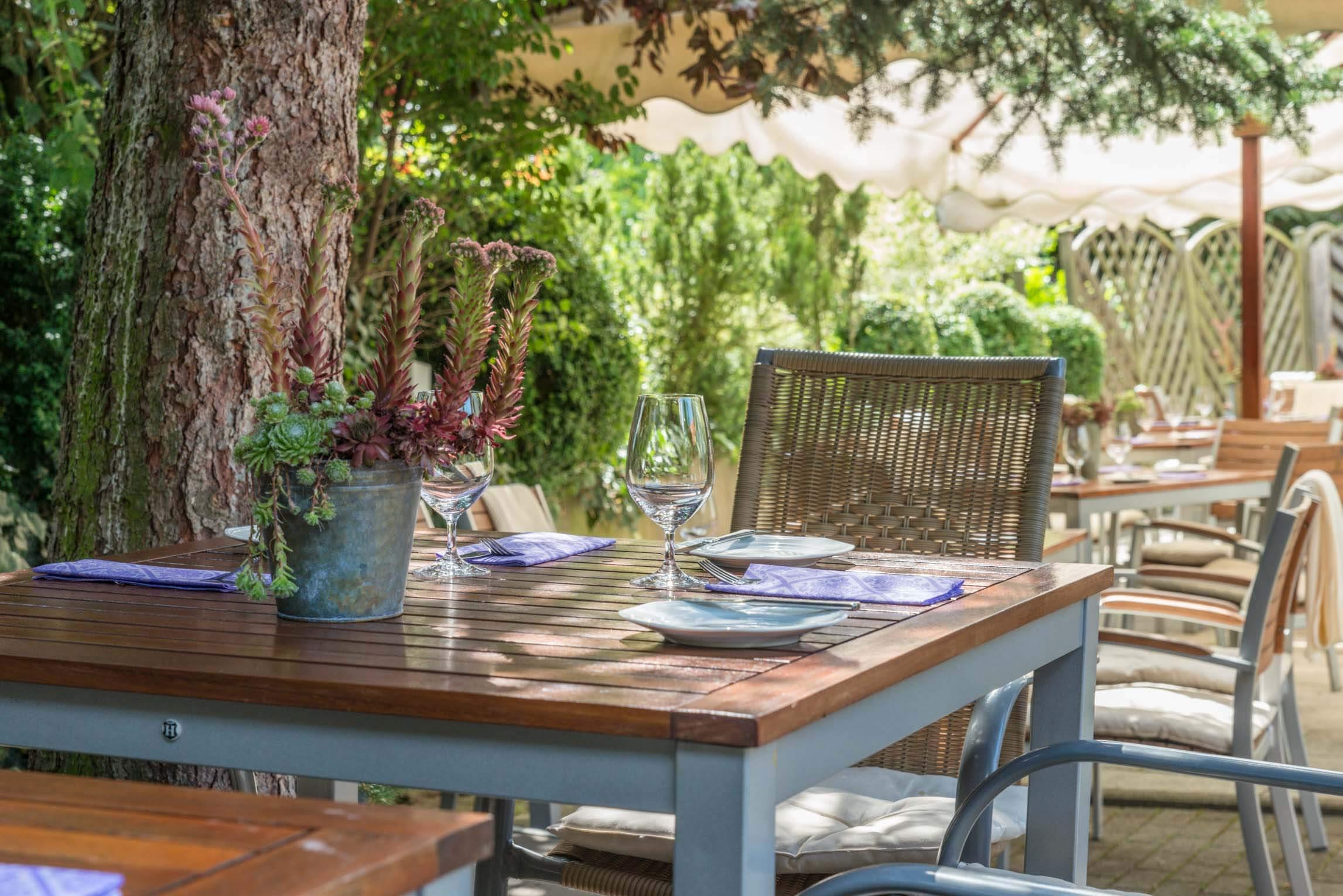 Terrasse Tisch